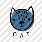 """Plotterdatei """"Treffen der Tiere"""" Katze"""