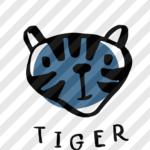 """Plotterdatei """"Treffen der Tiere"""" Tiger"""