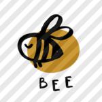 """Plotterdatei """"Bienenschwarm"""" Biene"""